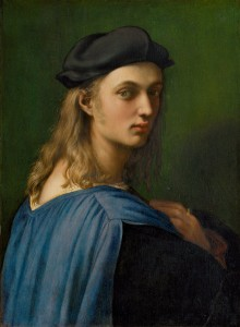 Raphael<br /><i>Bindo Altoviti</i>, c. 1515<br />Oil on panel, 59.7 x 43.8 cm (23 1/2 x 17 1/4 in.)<br />National Gallery of Art, Washington, DC, Samuel H. Kress Collection<br />Image courtesy of the Board of Trustees, National Gallery of Art