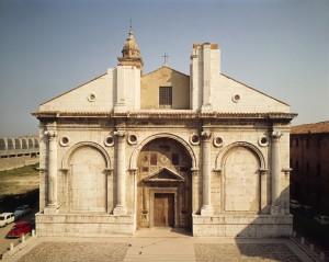 Leon Battista Alberti Façade, Tempio Malatestiano, c. 1450 Rimini, Italy Scala/Art Resource, NY