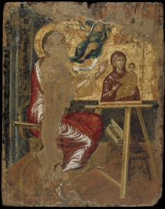 El Greco (Domenikos Theotokopoulos) Saint Luke Painting the Virgin, before 1567 Tempera and gold on canvas attached to panel, 41.6 x 33 cm (16 3/16 x 12 7/8 in.) Benaki Museum, Athens © 2012 by Benaki Museum, Athens