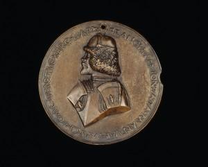 Sperandio Francesco Il Gonzaga, (1466–1519), 4th Marquess of Mantua (1484) [obverse], c. 1495 Bronze, diameter 9.5 cm (3 3/4 in.) National Gallery of Art, Washington, DC, Samuel H. Kress Collection Image courtesy of the Board of Trustees, National Gallery of Art