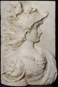 Workshop of Andrea del Verrocchio<br /><i>Alexander the Great</i>, c. 1483/85<br />Marble, 55.9 x 36.7 cm (22 x 14 7/16 in.)<br />National Gallery of Art, Washington, DC, Gift of Therese K. Straus<br />Image courtesy of the Board of Trustees, National Gallery of Art