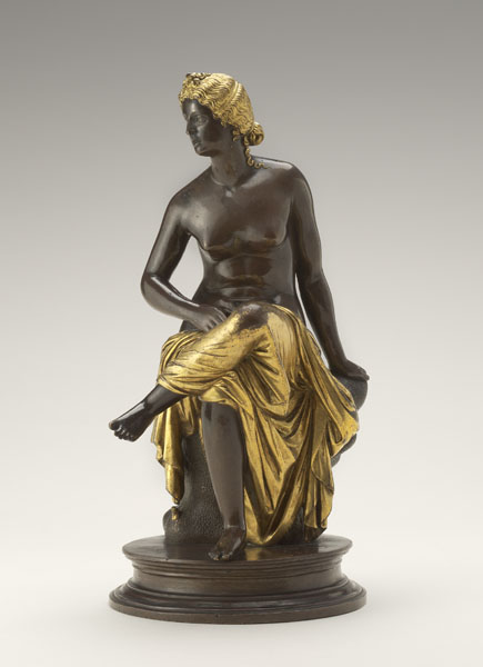 Antico<br /><i>Seated Nymph</i>, probably 1503<br />Bronze with gilding and silvering, h. without base 19.5 cm (7 5/8 in.)<br />Robert H. and Clarice Smith