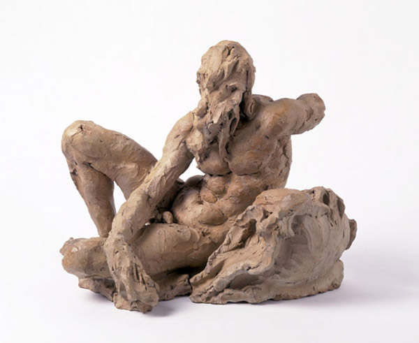 Giambologna  Sketch model for a river god, c. 1580 Terracotta, 31 x 39.4 x 25 cm (22 1/5 x 15 1/2 x 9 4/5 in.) Victoria and Albert Museum, London