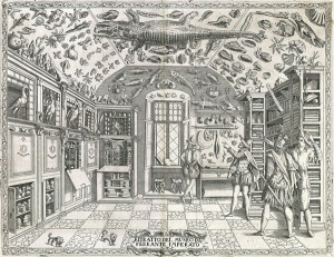 Cabinet of Wonders Engraving from Ferrante Imperato's Dell'historia naturale Second edition, Venice, 1672 University Library of Erlangen-Nüremberg