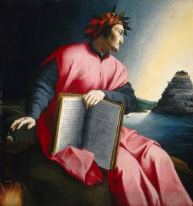 Florentine, 16th century<br /><i>Allegorical Portrait of Dante</i>, late 16th century<br />Oil on panel, 126.9 x 120 cm (49 15/16 x 47 1/4 in.)<br />National Gallery of Art, Washington, DC, Samuel H. Kress Collection<br />Image courtesy of the Board of Trustees, National Gallery of Art