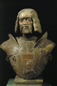 Giovanni Cristoforo Romano<br /><i>Francesco Gonzaga, Margrave of Mantua and condottiere (1466–1519)</i>, 1498<br />Terracotta, h. 69 cm (27 1/5 in.)<br />Museo del Palazzo Ducale, Mantua<br />Erich Lessing/Art Resource, NY