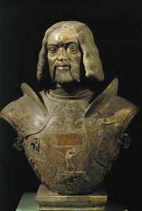 Giovanni Cristoforo Romano Francesco Gonzaga, Marquis of Mantua and condottiere (1466–1519), 1498  Terracotta, h. 69 cm (27 1/5 in.) Museo del Palazzo Ducale, Mantua Erich Lessing/Art Resource, NY