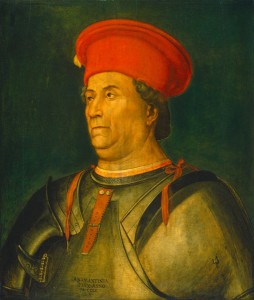 North Italian, 15th century Francesco Sforza, probably c. 1480/1500 Oil on panel, 72.4 x 62.1 cm (28 1/2 x 24 7/16 in.) National Gallery of Art, Washington, DC, Widener Collection Image courtesy of the Board of Trustees, National Gallery of Art