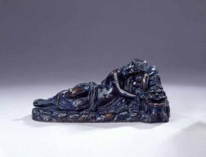 Venetian, 16th century Inkstand with a sleeping Nymph Bronze Daniel Katz, Ltd., Private dealer, Italy Courtesy of Daniel Katz Gallery