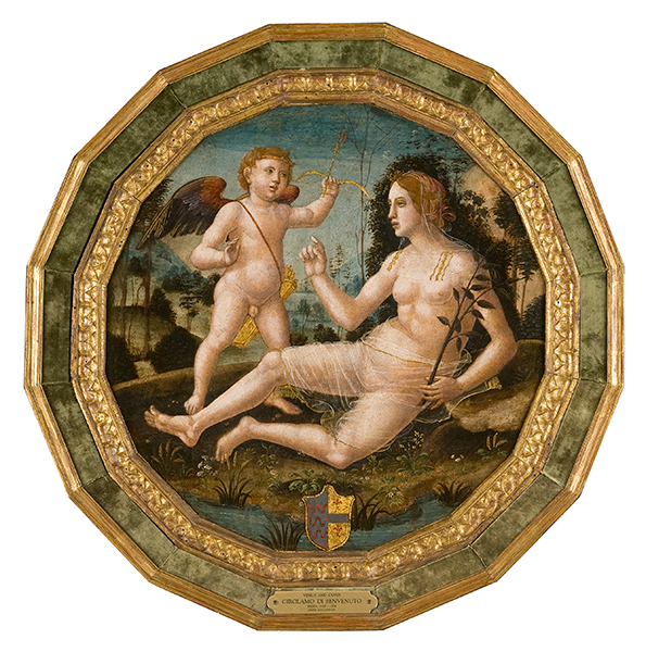 Girolamo di Benvenuto Venus and Cupid, c. 1500 Oil on poplar wood, 52 x 51 cm (20 1/2 x 20 in.) Denver Art Museum, Gift of the Samuel H. Kress Foundation